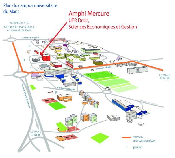 Plan Campus Le Mans